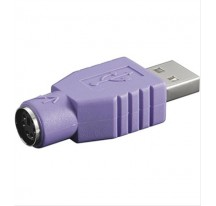 ADAPTADOR DELOCK USB A PS/2 PARA TECLADO