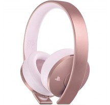 AURICULARES SONY PS4 ROSE GOLD WIRELESS BLACK