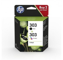 PACK TINTA HP 303 NEGRO+COLOR
