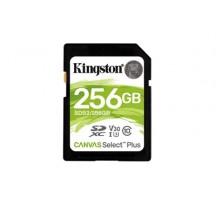 MEMORIA SD 256GB  KINGSTON CANVAS SELECT PLUS