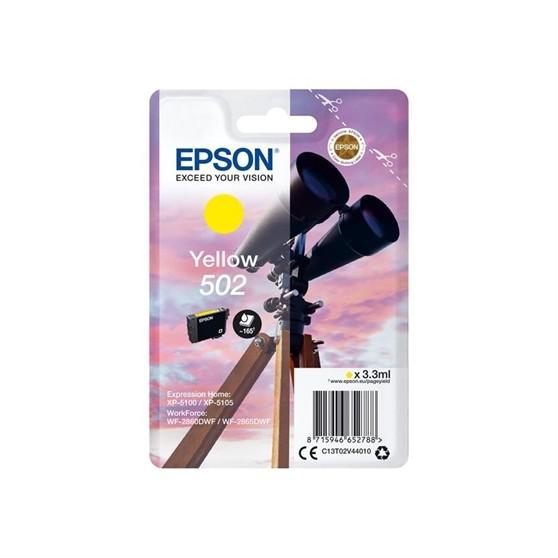CARTUCHO EPSON YELLOW 502
