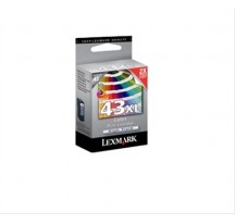 LEXMARK INK CART/COLOUR PHOTO F P350 NO43·