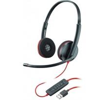 AURICULARES POLY BLACKWIRE C3220 USB CON CAB·DESPRECINTADO
