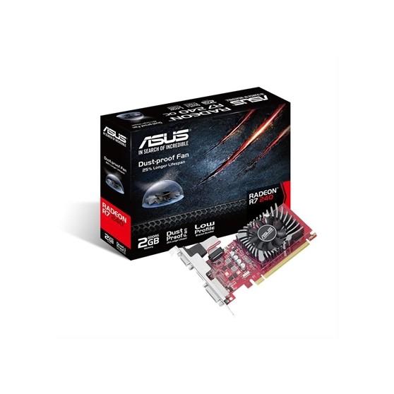 VGA ASUS RADEON R7 240 2GB GDDR5·DESPRECINTADO