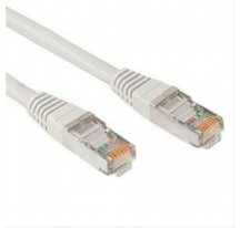 CABLE RED LATIGUILLO RJ45 CAT.5E UTP AWG24,0.5M GRIS NANOCABLE
