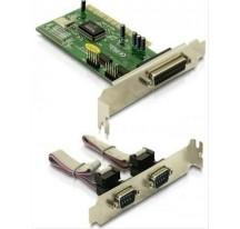 TARJETA PCI 2P SERIE + 1P PARALELO DELOCK