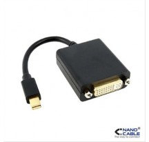 CONVERSOR MINI DISPLAYPORT A DVI SINGLE 15CM