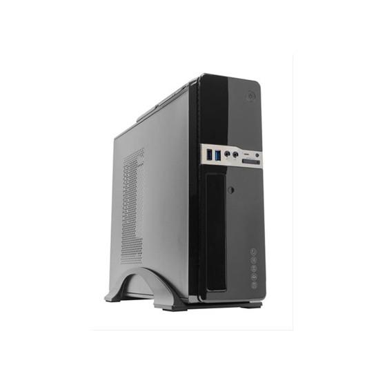 CAJA SLIM UNYKA 2009 MICRO ATX 300W-85%  NEG USB