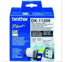 ETIQUETAS PRECORTADAS 29x62MM PAPEL BROTHER