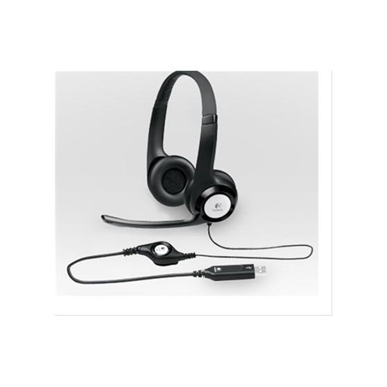AURICULARES LOGITECH HEADSET H390 USB