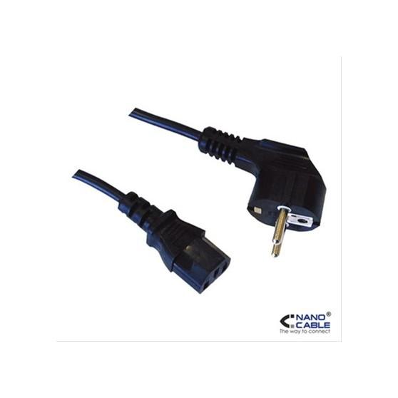 CABLE DE ALIMENTACION CPU CEE7/M-C13/H 5MTS