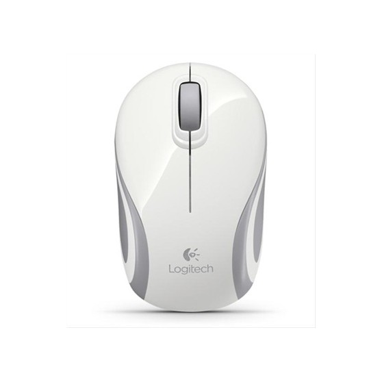 RATON WIRELESS LOGITECH MINI M187 BLANCO