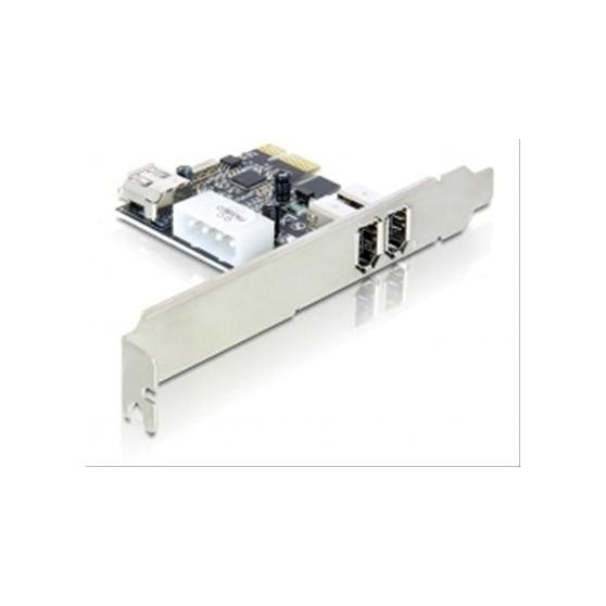 TARJETA PCIe 2+1 PUERTOS FIREWIRE A