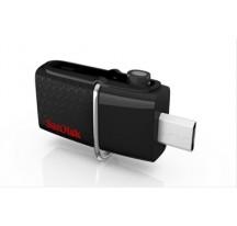 PEN DRIVE 16GB SANDISK DUAL USB / MicroUSB  3.0