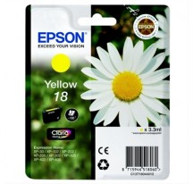 TINTA EPSON Nº18 YELLOW