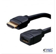 CABLE HDMI PROLONGADOR V1.3B, A/M-A/H, 1 M NANOCABLE