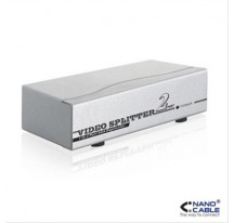 SPLITTER VGA 2 PUERTOS 250MHz NANOCABLE
