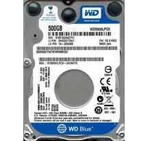 """HD 2.5"""" WD BLUE 500GB SATA III 5400RPM ·"""