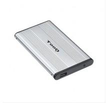 "CAJA EXTERNA 2.5"" SATA TOOQ PLATA USB 2.0"