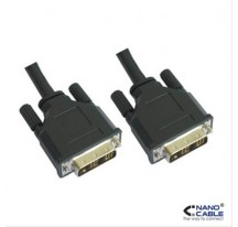 CABLE DVI SINGLE LINK 18+1, M-M, 1.8M NANOCABLE