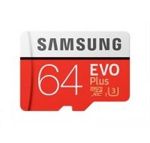 MEMORIA MICRO SD 64GB EVO+ SAMSUNG CLASE 10+ADAPTADOR