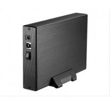"CAJA EXTERNA 3.5"" SATA TOOQ NEGRA USB3.0"