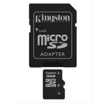 MEMORIA MICRO SD 16GB CLASE 4 KINGSTON