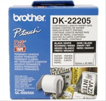 PAPEL CINTA CONTINUA BROTHER 62mm