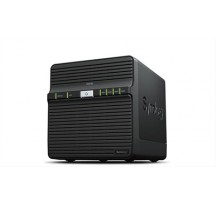 NAS SYNOLOGY 4 BAY DS418J 2XUSB3.0 NEGRO
