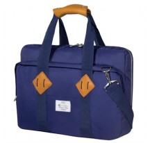"MALETIN E-VITTA 16"" MESSENGER DARK BLUE"