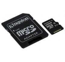 MEMORIA MICRO SD 128GB KINGSTON  XC CL 10 UHS-I+ADAP
