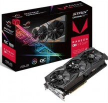 VGA ASUS ATI RADEON STRIX GAMING RX VEGA 56 8GB  OC EDITION