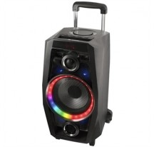 ALTAVOZ NGS WILD DISCO BLUETOOTH PORTÁTIL 80W USB-SD-FM-AUX IN-LUCES LED