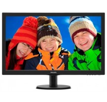 "MONITOR LED 27"" PHILIPS 273V5LHAB 1920X1080 HDMI VGA DVI MM"