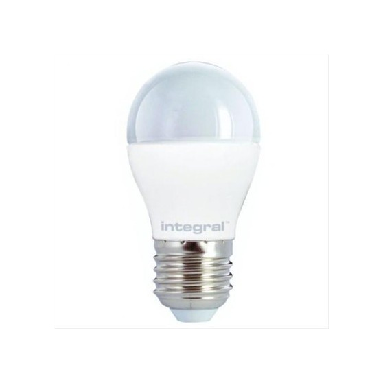 BOMBILLA LED INTEGRAL MINI GLOBE E27 6.5W 270
