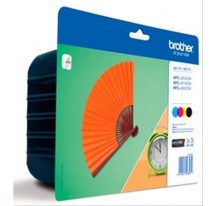 TINTA BROTHER LC129 NEGRO+3 COLORES