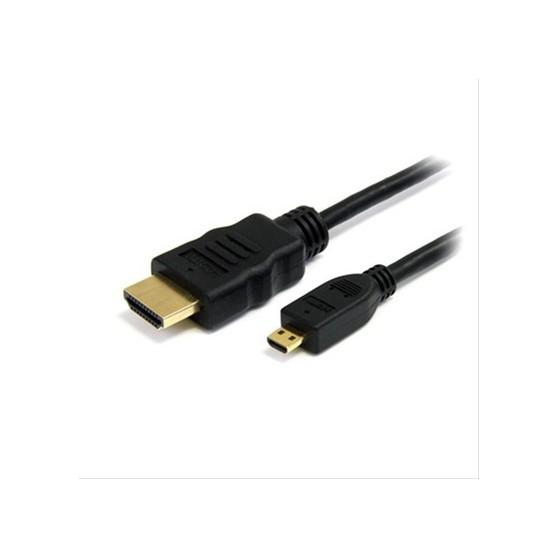 CABLE MICRO HDMI V1.4 ALTA VELOCIDAD/HEC, A/M-D/M 0.8M NANOCABLE