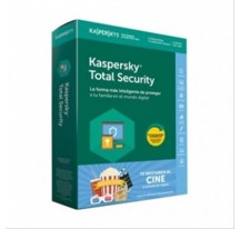KASPERSKY TOTAL SECURITY 1 USUARIO 3 DISPOSITIVOS + 1 ENTRADA DE CINE