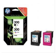 CARTUCHO TINTA HP 300 NEGRO+COLOR PARA CB671B/CH366B/CB755B/CN517B/CZ022B/CQ811B/Q8418B