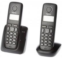TELEFONO INALAMBRICO GIGASET A120 TRIO NEGRO-DESPRECINTADO