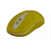 RATON USB NOTEBOOK PRIMUX M505 AMARILLO