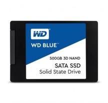 """SSD 2.5"""" 500GB WD 3D NAND BLUE R560/W530 MB/s"""