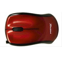 RATON USB PRIMUX M305 ROJO 3D RETRACTABLE