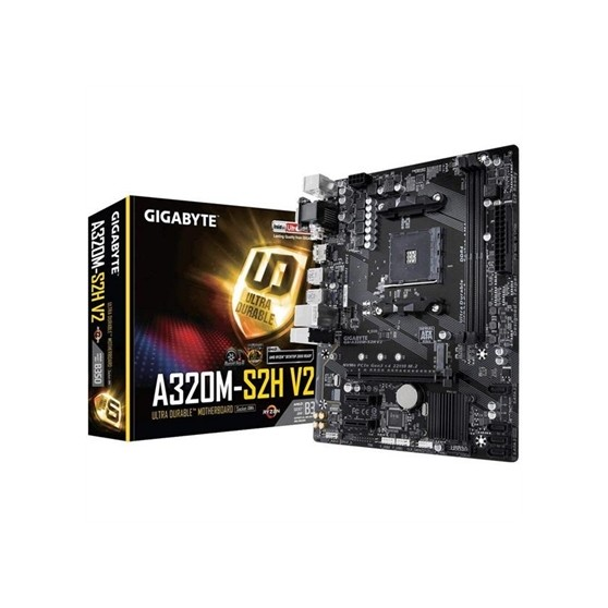 PLACA AM4 GIGABYTE A320M S2H V2 DDR4