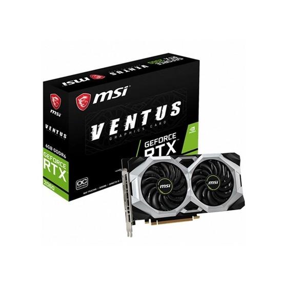 VGA MSI VENTUS RTX 2060 6GB GDDR6 OC EDITION