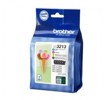 TINTA BROTHER LC3213VAL NEGRO+COLOR