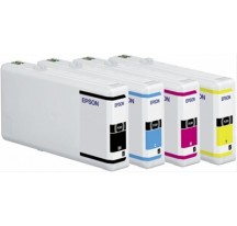 EPSON INK CARTRIDGE XL BLACK 2.4K     WP4000·