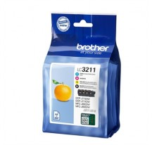 TINTA BROTHER LC3211VAL NEGRO+COLOR