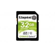 MEMORIA SD 32GB CLASE 10 KINGSTON CANVAS SELECT