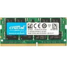 MODULO SODIMM DDR4 16GB 2400MHZ CRUCIAL CL17·